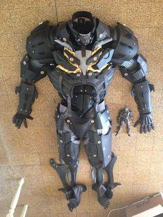 Metal Gear Rising Raiden's Armor Pattern prop by LifeSizeHeroes