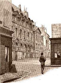Paris : Histoire de L'Église de Saint-Germain des Prés, la foire, le marché Saint-Germain