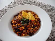 chili con carne Chana Masala, Blog, Ethnic Recipes, Chili Con Carne, Food Food, Blogging