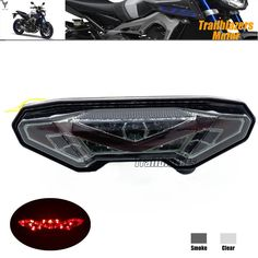 59.99$  Watch here - http://ali426.worldwells.pw/go.php?t=32644339953 - For YAMAHA MT-09 FZ-09 MT-09 Tracer/ Tracer 900 Tracer 700 MT-10/FZ-10 Motorcycle Integrated LED Tail Light Turn signal  Smoke 59.99$