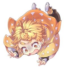 Check out our new products at Demon Slayer section here at your online anime store: Rykamall! Dibujos Anime Chibi, Chibi Anime, Me Anime, Fanarts Anime, Kawaii Chibi, Anime Angel, Cute Chibi, Anime Kawaii, Anime Love
