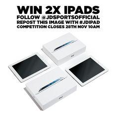 http://instagram.com/p/vgbiYLDeMH Win TWO iPads c/d 28/11/14
