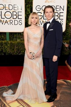 Zoe Kazan and Paul Dano | The 12 Best-Dressed Couples Of The 2016 Golden Globes