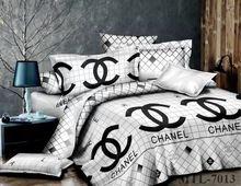 Chanel King size six piece Duvet bedding by luxurydesignbedding