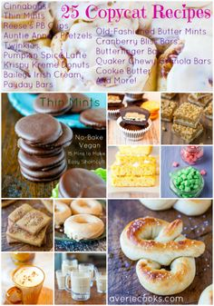 25 Copycat, Knock-Off & DIY Recipes averiecooks.com