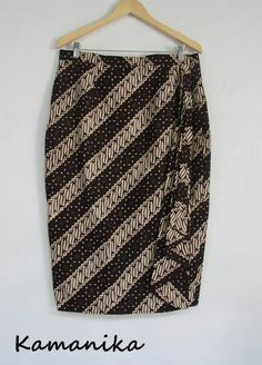 Classic style for work, date, play... make it dressy or casual. batik skirt