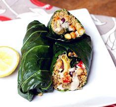 Healthy Lunch: Chickpea Artichoke Mediterranean Wrap - Peaceful Dumpling | Peaceful Dumpling