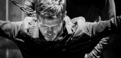 gif gifs Black and White the vampire diaries edits edit klaus ...