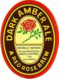 Labels Dark Amber Ale Groves & Whitnall Ltd. Drink Labels, Bottle Labels, Beer Bottle, Beer Labels, Sous Bock, British Beer, Beer Mats, Beer Coasters, How To Make Logo