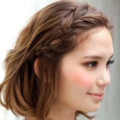 Pretty Peinados Pinterest Hair Style Bridal Makeup And Updos - Hairstyle rambut pendek ke pesta