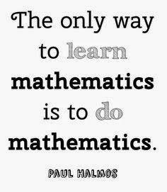 Apprendre les mathématiques - Paul Halmos