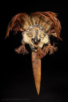 Papua New Guinea tribal mask
