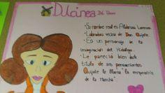 """La descripción. Personajes de """"Don Quijote de La Mancha"""". Dulcinea. 3.°ESO"""