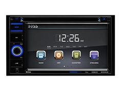 """BOSS Audio BV9364B Double Din, Touchscreen, Bluetooth, DVD/CD/MP3/USB/SD AM/FM Car Stereo, 6.2 Inch Digital LCD Monitor, Wireless Remote - Ramp up your music choices on your next road trip with the Boss Audio BV9364B DVD Player and 6.2"""" Touchscreen Monitor. Slide in a DVD or CD, plug into the SD and USB ports or hook up your smartphone to the Auxiliary input to listen to your playlists. Bluetooth technology lets you stream music app..."""