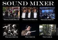 What people thinks Sound Mixer (Film) do.