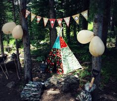 Camp Out/Camping Birthday Party! - Kara's Party Ideas - The Place for All Things Party