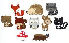Baby Shower Woodland Animal Theme It's A Boy by ScrapsToRemember