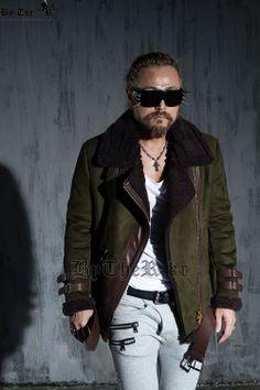 winter coat (khaki)