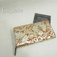 Coquette フルールラウンド長財布 http://item.rakuten.co.jp/bon-eto/b9-coquette-g1008s/