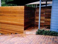 Related image result Horizontal Fence, Backyard Fences, Outdoor Furniture, Outdoor Decor, Outdoor Storage, Garage Doors, Building, Image, Home Decor