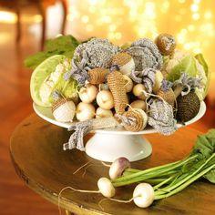 Explications des légumes au crochet
