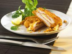 Selbst gemachtes Cordon bleu ist ein Rezept mit frischen Zutaten aus der Kategorie Kalb. Probieren Sie dieses und weitere Rezepte von EAT SMARTER!