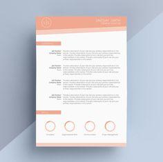 Modern Cover Letter Modern Resume Template Cover Letter Cv Template Simple Resume