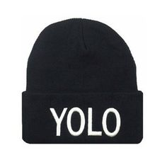 """2.42$  Buy here - http://alieo1.shopchina.info/go.php?t=32806543479 - """"Hot Selling Men Beanies """"""""YOLO"""""""" Gorras Hiphop Hats Casual female & male Beanie Hat Winter/Fall Warm Unisex hats skullies""""  #shopstyle"""