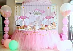 Celebrate with Cake!: Carousel themed Dessert Table (Click on post for m...