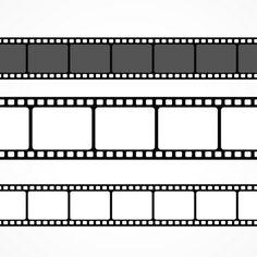 Lade Retro Kinokarten kostenlos herunter - - Lade Retro Kinokarten kostenlos herunter Rita Kino Vector film strip collection in different sizes Deco Cinema, Photographic Film, Filmstrip, Film Reels, Free Films, Diy Crafts To Do, Movie Themes, Washi Tape, Overlays