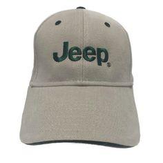 Jeep Baseball Cap Hat Casual Outdoor Sun Beach Adjustable Tan Dad Hat    eBay