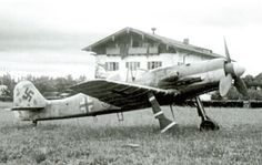 Focke Wulf Fw 190D9 JV44 Red 3 Waldemar Wubke Germany 1945