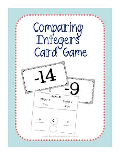 Upper Grades Are Awesome: Comparing Integers
