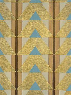 Eric Bagge Papier Peint (1920's vintage pattern)