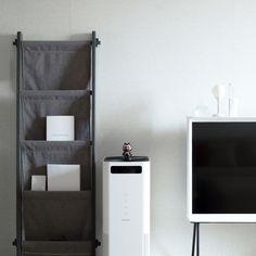 Serif TV, Balmuda Air Engine & munito RE:BOOK black white gray