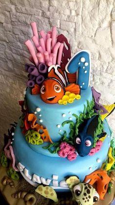 Nemo cake  - Cake by Natyscake