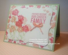 Stress-Free Stamping with Shana: The Stamp Review Crew: Painted Petals Edition