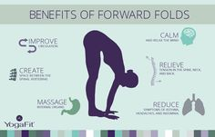 Melt into Forward Fold and enjoy the many benefits of this pose.