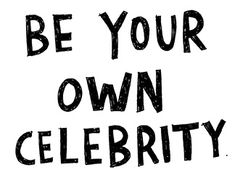Very interesting and inspiring article about the cult of celebrity