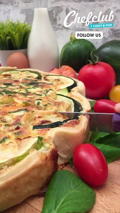 Low Calorie Recipes, Vegan Recipes, Cooking Recipes, Zucchini Tart, Salmon Quiche, Buzzfeed Tasty, Good Food, Yummy Food, Tasty Bites