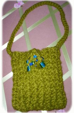 Easy Loom Knit Bag~
