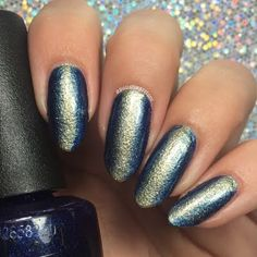 Preen.Me VIP Nicole gives her nails a flashy finish using her gifted #OPIStarlight Nail Lacquers. See this how-to and the shades featured to DIY.