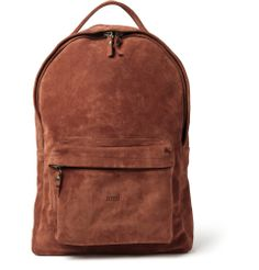 Ami Suede Backpack | MR PORTER