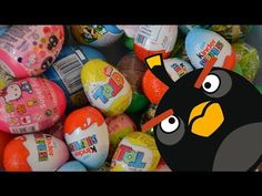 3 Nestle ToTo Surprise Eggs Unboxing Angry Birds Toys