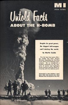 Untold Facts About the H-Bomb (Sep, 1954)