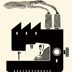 Fair Trade for the Global Garment Industry - NYTimes.com  Mitch Blunt illustration