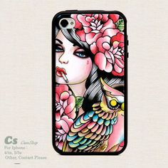 Case For Iphone 4 4s/5 high qulity Owl. ZC1997
