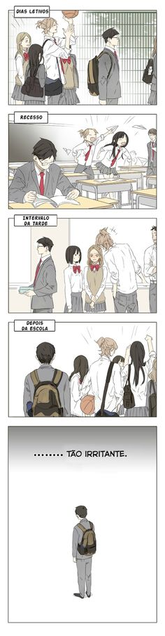 Armazém Yuri - Galeria de mangás: Tamen de Gushi - Capítulo 01
