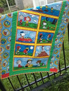 snoopy quilts | Snoopy Crib Quilt Snoopy Nursery Bedding Woodstock Toddler Peanuts ...