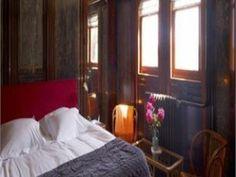 Cozy room onboard a boat. Hotel Prince Van Orangien, Stockholm.